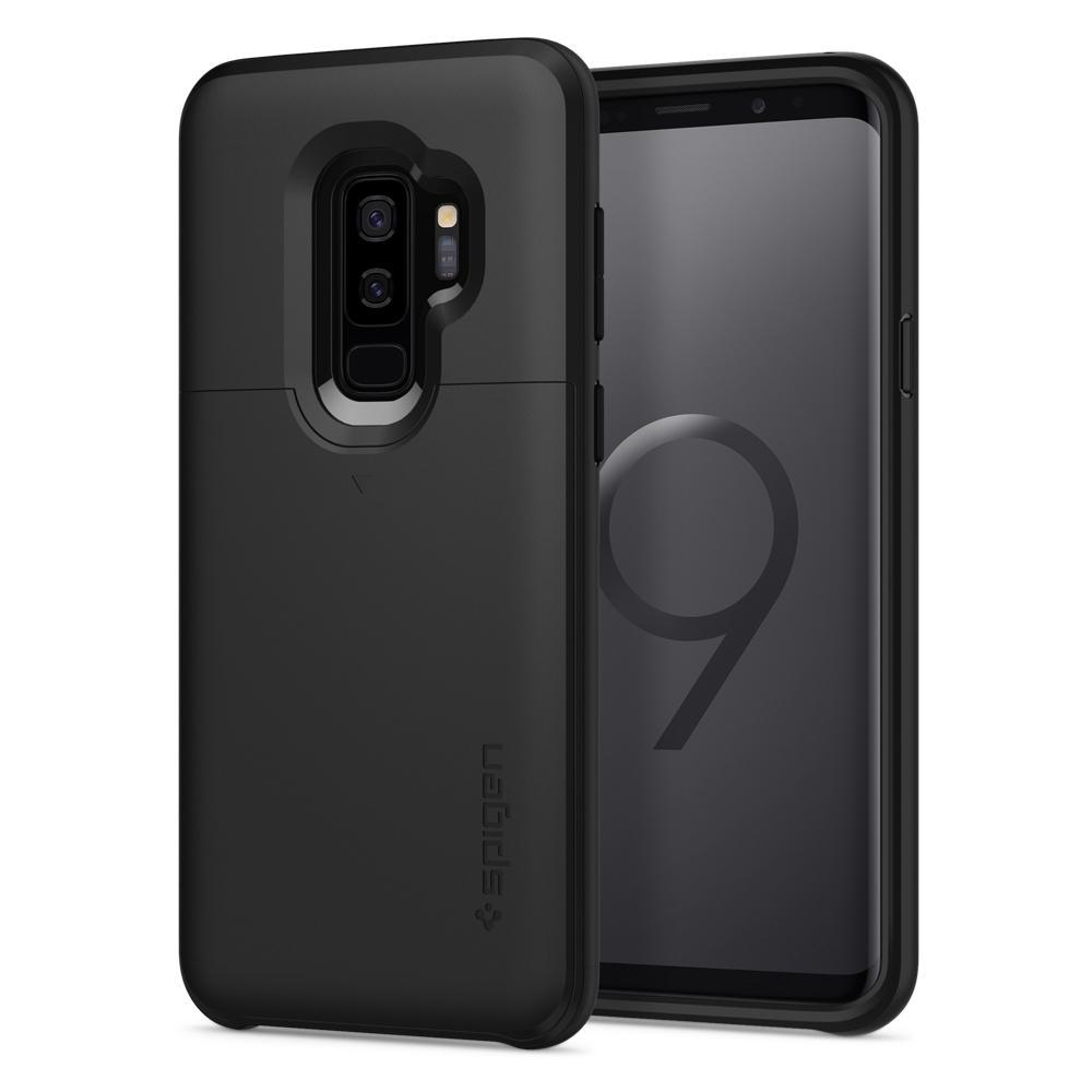 Купить Чехол Spigen Slim Armor CS Black для Samsung Galaxy S9 Plus