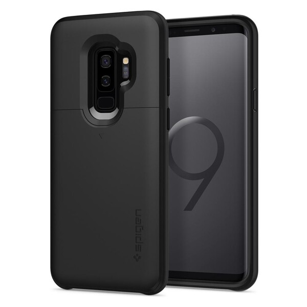 Чехол Spigen Slim Armor CS Black для Samsung Galaxy S9 Plus