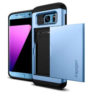 Купить Чехол Spigen Slim Armor CS Blue Coral для Samsung Galaxy S7 edge