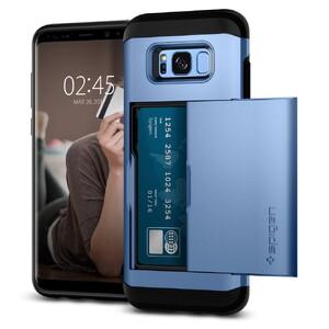Купить Чехол Spigen Slim Armor CS Blue Coral для Samsung Galaxy S8