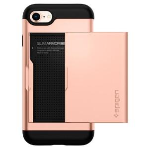 Купить Чехол Spigen Slim Armor CS Blush Gold для iPhone 7/8