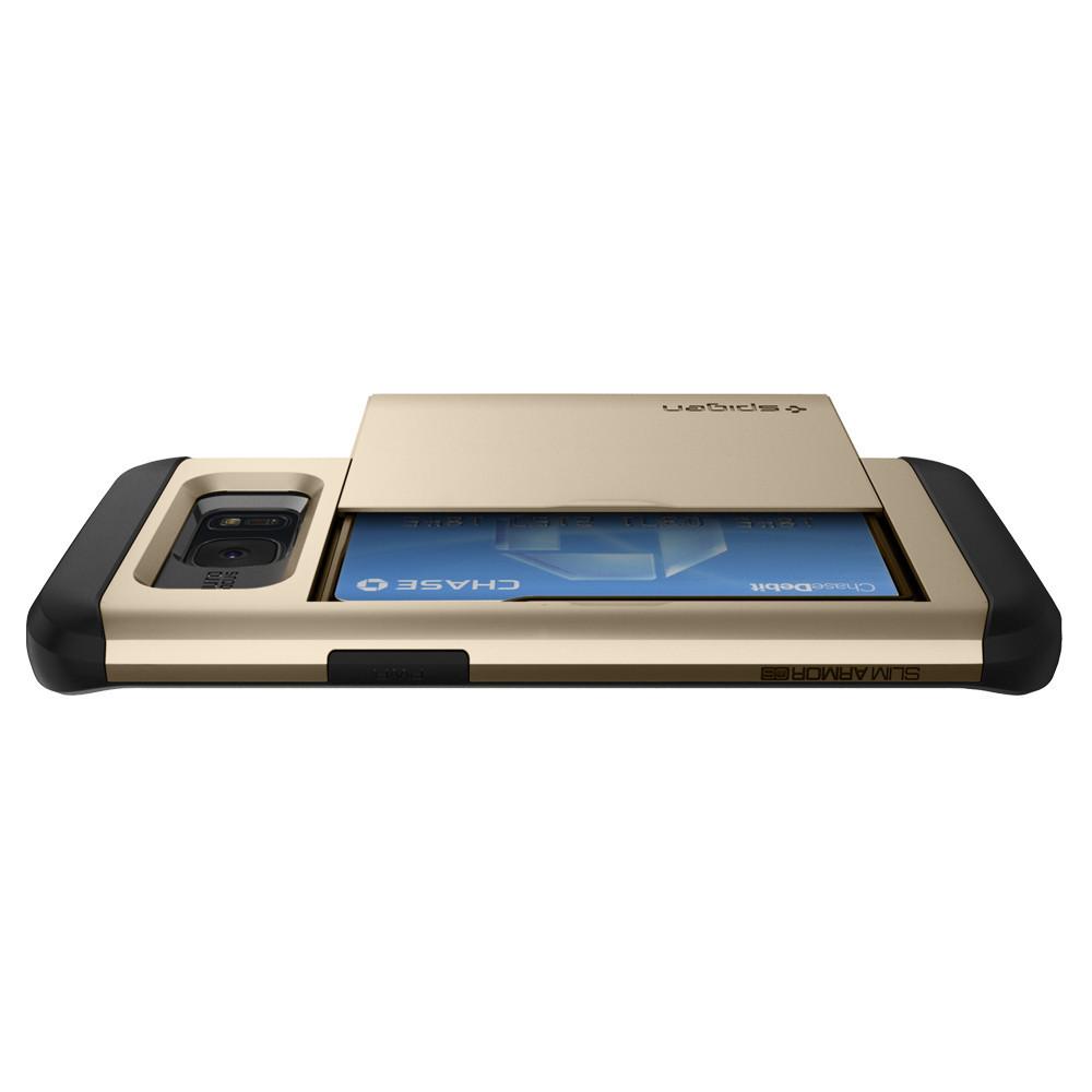 Чехол Spigen для Samsung Galaxy Note 8 Slim Armor CS Steel 587CS22071