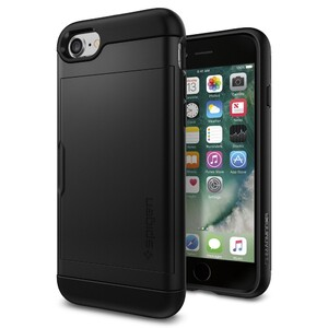 Купить Чехол Spigen Slim Armor CS Black для iPhone 7