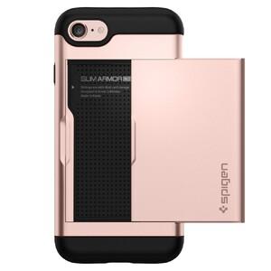 Купить Чехол Spigen Slim Armor CS Rose Gold для iPhone 7/8
