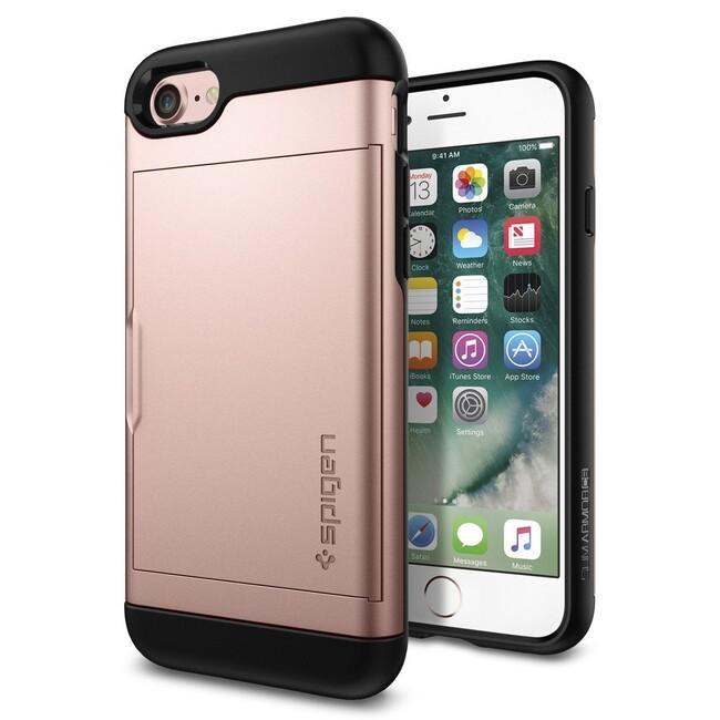 Чехол Spigen Slim Armor CS Rose Gold для iPhone 7