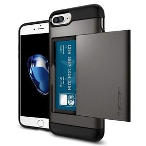 Купить Чехол Spigen Slim Armor CS Gunmetal для iPhone 7 Plus/8 Plus