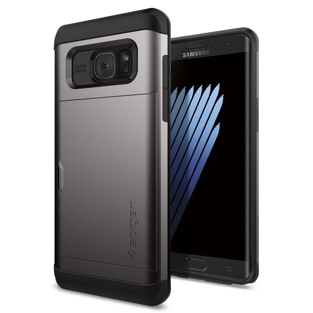 Чехол Spigen Slim Armor CS Gunmetal для Samsung Galaxy Note 7