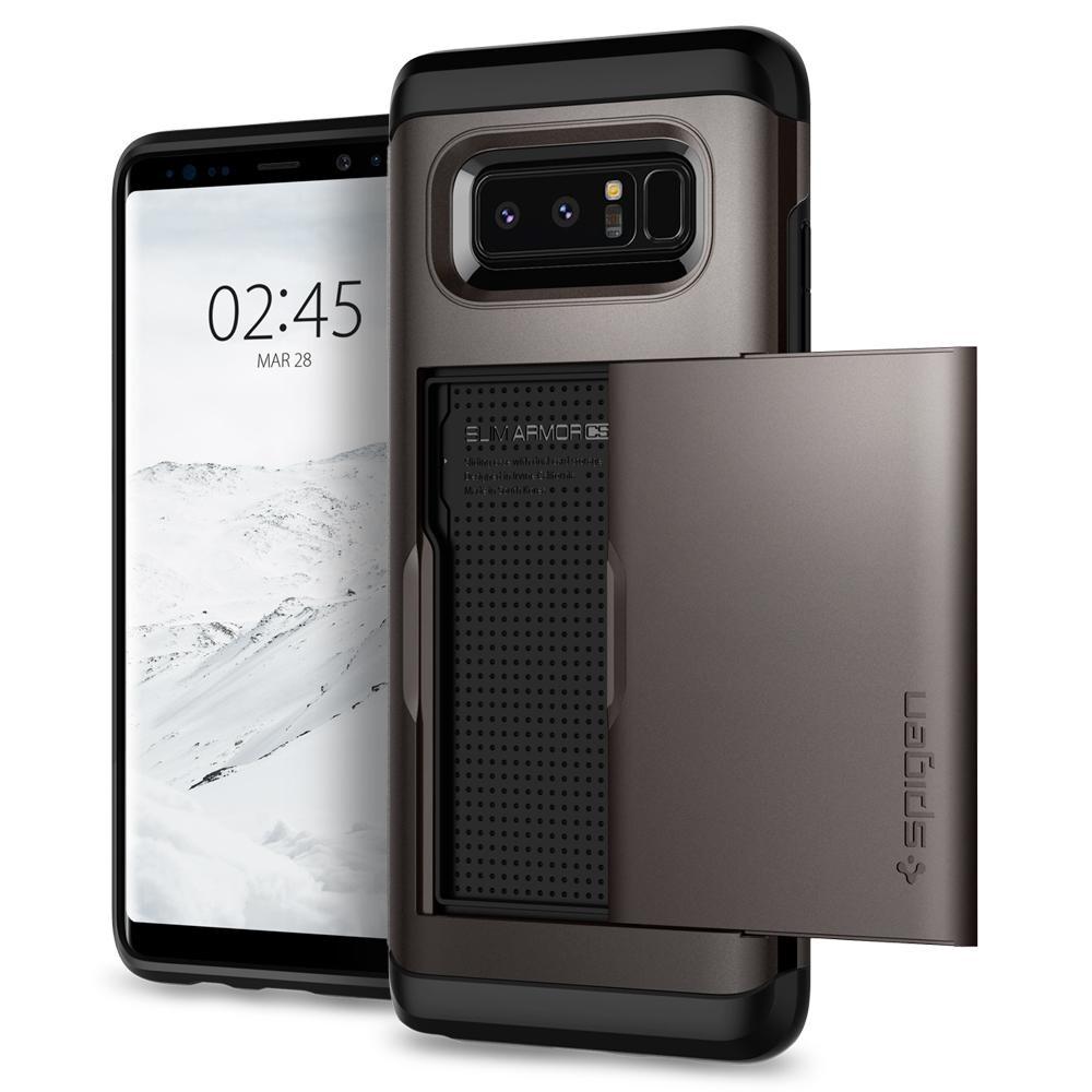 Чехол Spigen Slim Armor CS Gunmetal для Samsung Galaxy Note 8