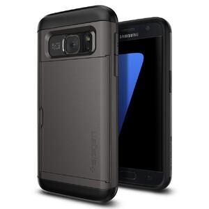 Купить Чехол Spigen Slim Armor CS Gunmetal для Samsung Galaxy S7