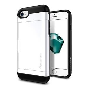 Купить Чехол Spigen Slim Armor CS Jet White для iPhone 7/8