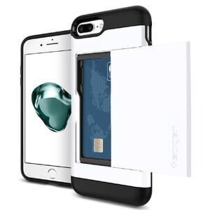 Купить Чехол Spigen Slim Armor CS Jet White для iPhone 7 Plus