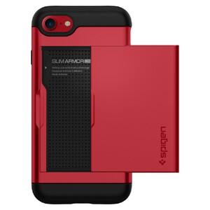 Купить Чехол Spigen Slim Armor CS Red для iPhone 7/8