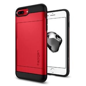 Купить Чехол Spigen Slim Armor CS Red для iPhone 7 Plus