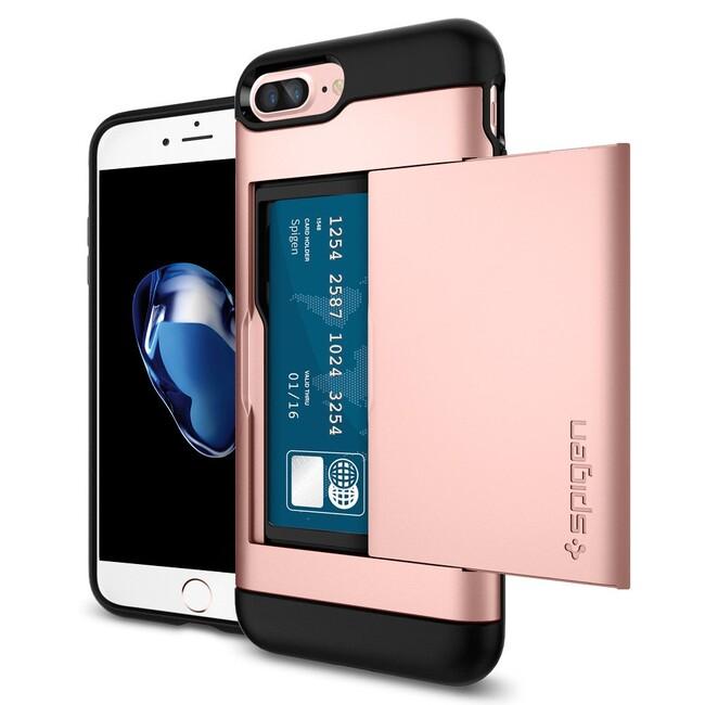 Чехол Spigen Slim Armor CS Rose Gold для iPhone 7 Plus