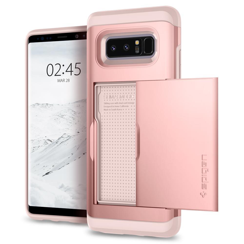 Купить Чехол Spigen Slim Armor CS Rose Gold для Samsung Galaxy Note 8