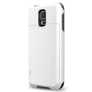 Купить Чехол Spigen Slim Armor CS Shimmery White для Samsung Galaxy S5