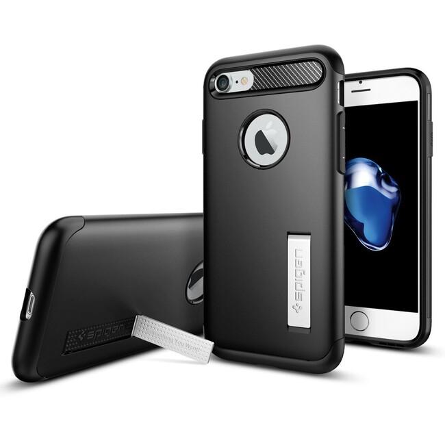Чехол Spigen Slim Armor Black для iPhone 7