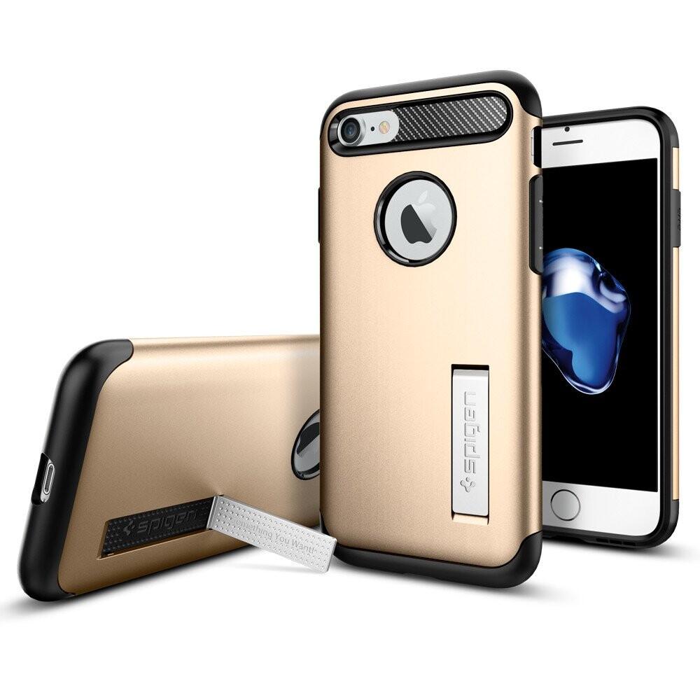 Чехол Spigen Slim Armor Champagne Gold для iPhone 7/8