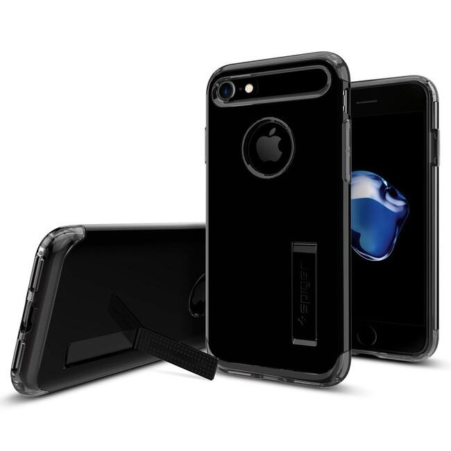 Чехол Spigen Slim Armor Jet Black для iPhone 7