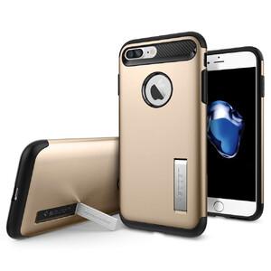 Купить Чехол Spigen Slim Armor Champagne Gold для iPhone 7 Plus/8 Plus