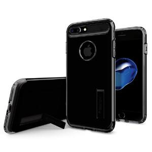 Купить Чехол Spigen Slim Armor Jet Black для iPhone 7 Plus/8 Plus
