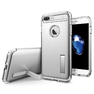 Купить Чехол Spigen Slim Armor Satin Silver для iPhone 7 Plus/8 Plus