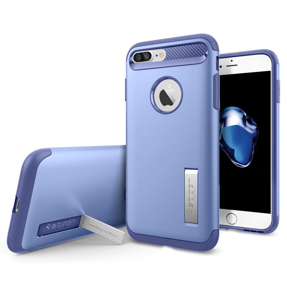 Чехол Spigen Slim Armor Violet для iPhone 7 Plus/8 Plus