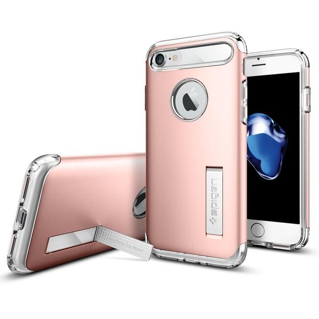 Чехол Spigen Slim Armor Rose Gold для iPhone 7