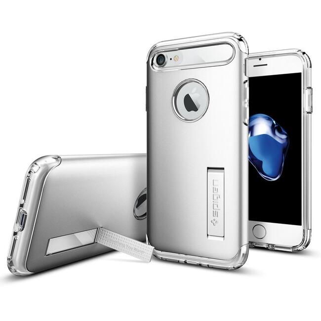 Чехол Spigen Slim Armor Satin Silver для iPhone 7