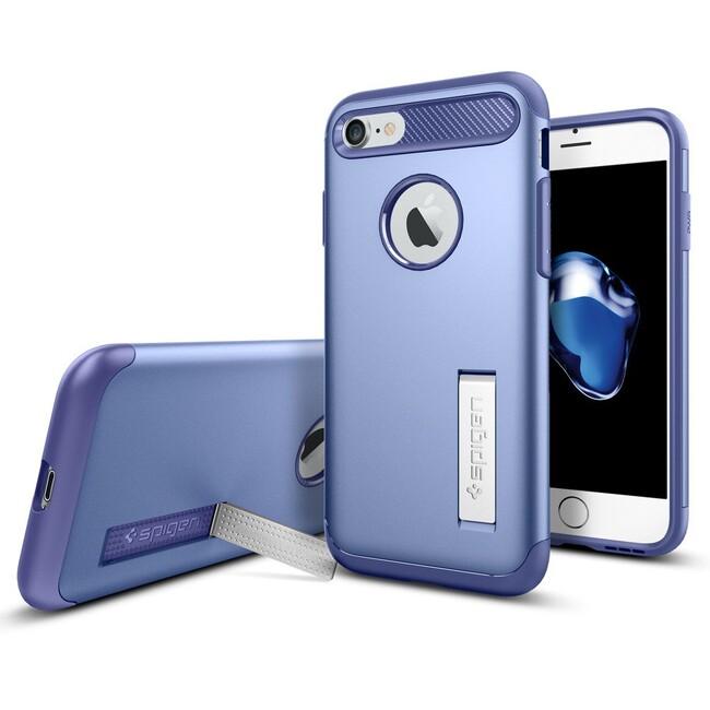 Чехол Spigen Slim Armor Violet для iPhone 7