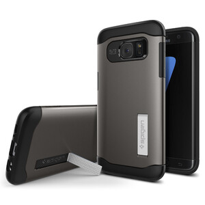 Купить Чехол Spigen Slim Armor Gunmetal для Samsung Galaxy S7 edge