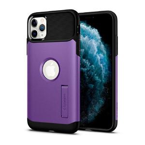 Купить Противоударный чехол Spigen Slim Armor Purple для iPhone 11 Pro