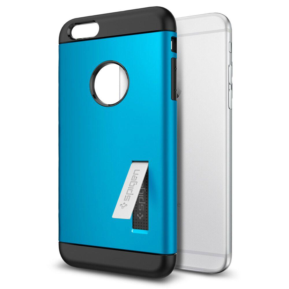 Чехол Spigen Slim Armor Electric Blue для iPhone 6/6s Plus