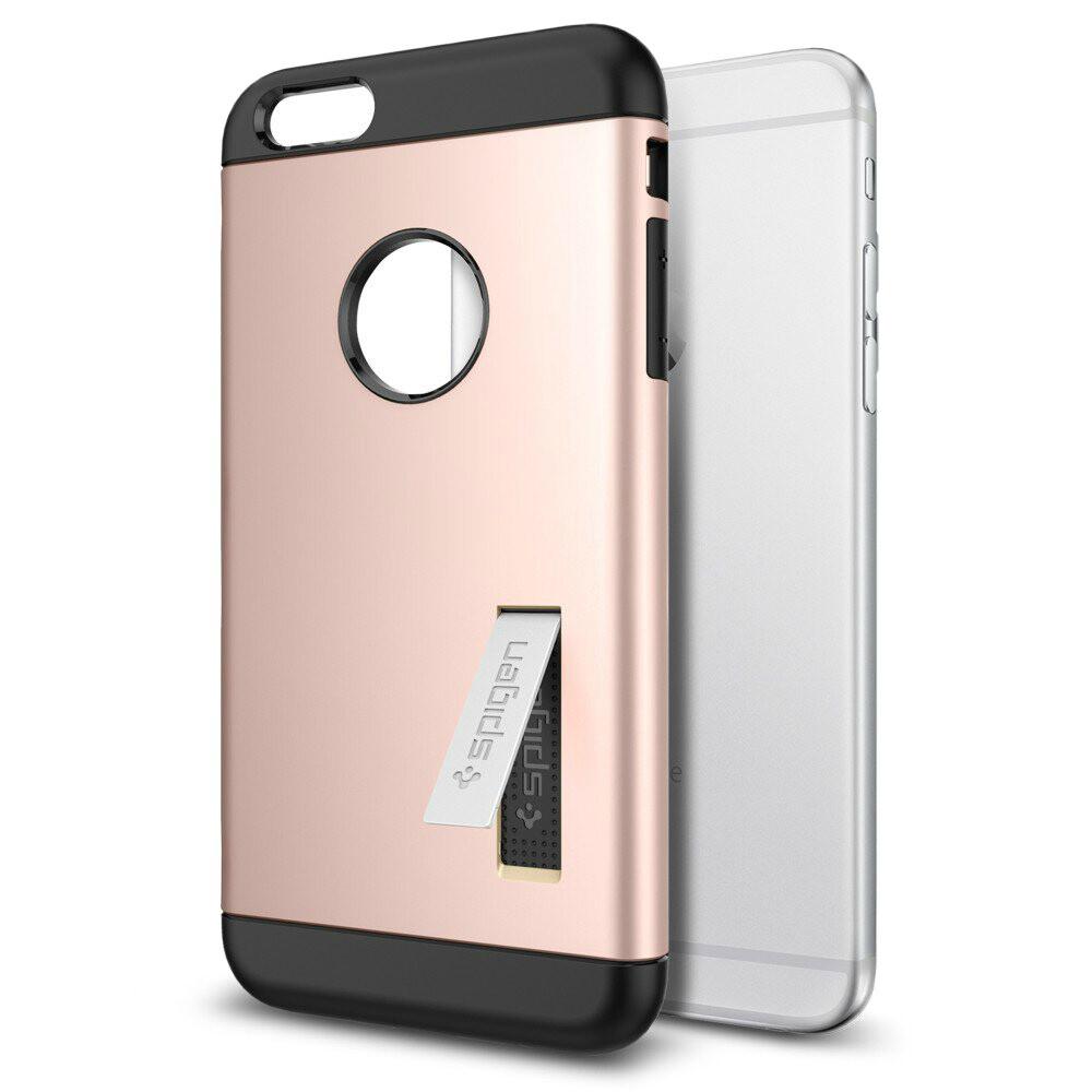 Чехол Spigen Slim Armor Rose Gold для iPhone 6/6s Plus