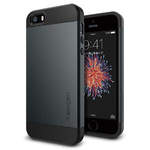 Купить Чехол Spigen Slim Armor Metal Slate для iPhone SE/5S/5