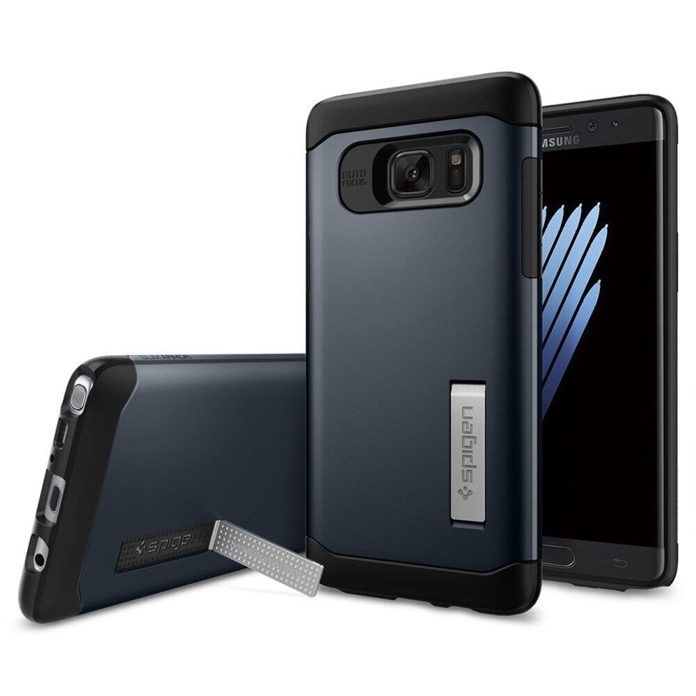 Чехол Spigen Slim Armor Metal Slate для Samsung Galaxy Note 7