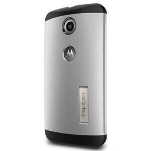 Купить Чехол Spigen Slim Armor Satin Silver для Motorola Nexus 6