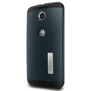 Купить Чехол Spigen Slim Armor Metal Slate для Motorola Nexus 6