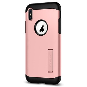 Купить Чехол Spigen Slim Armor Rose Gold для iPhone X