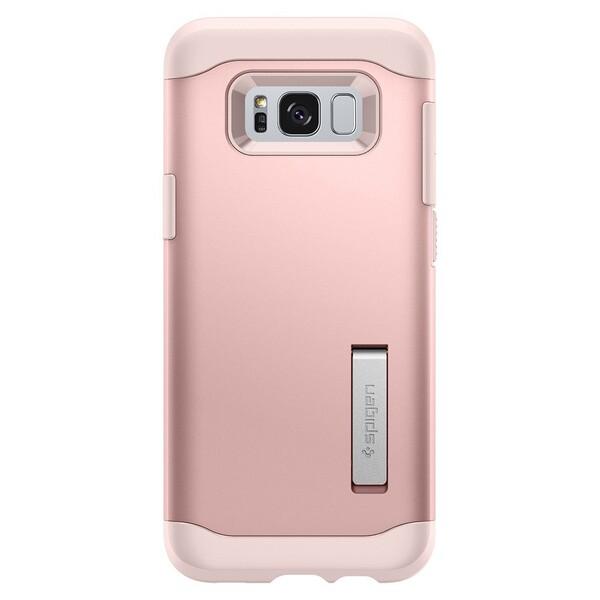 Чехол Spigen Slim Armor Rose Gold для Samsung Galaxy S8