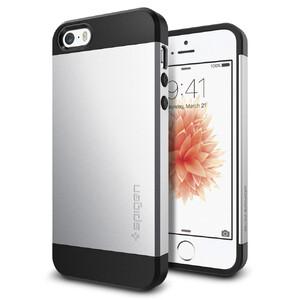 Купить Чехол Spigen Slim Armor Satin Silver для iPhone SE/5S/5