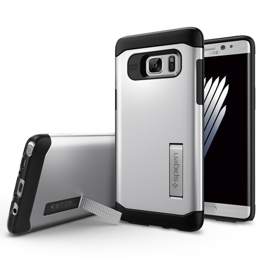 Чехол Spigen Slim Armor Satin Silver для Samsung Galaxy Note 7