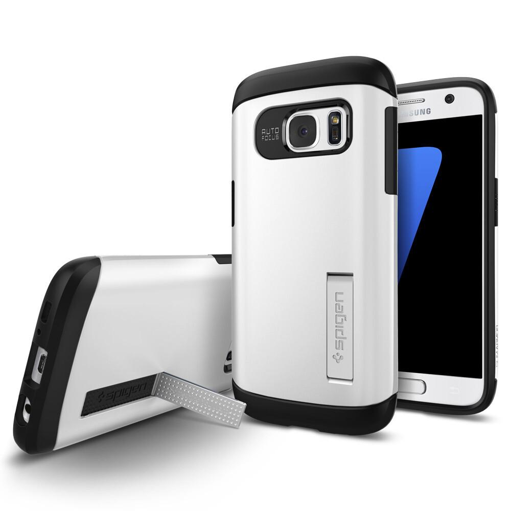 Чехол Spigen Slim Armor Shimmery White для Samsung Galaxy S7