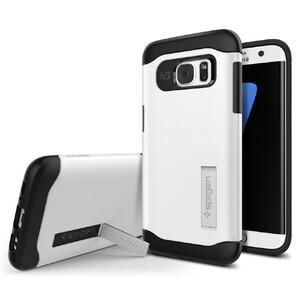Купить Чехол Spigen Slim Armor Shimmery White для Samsung Galaxy S7 edge