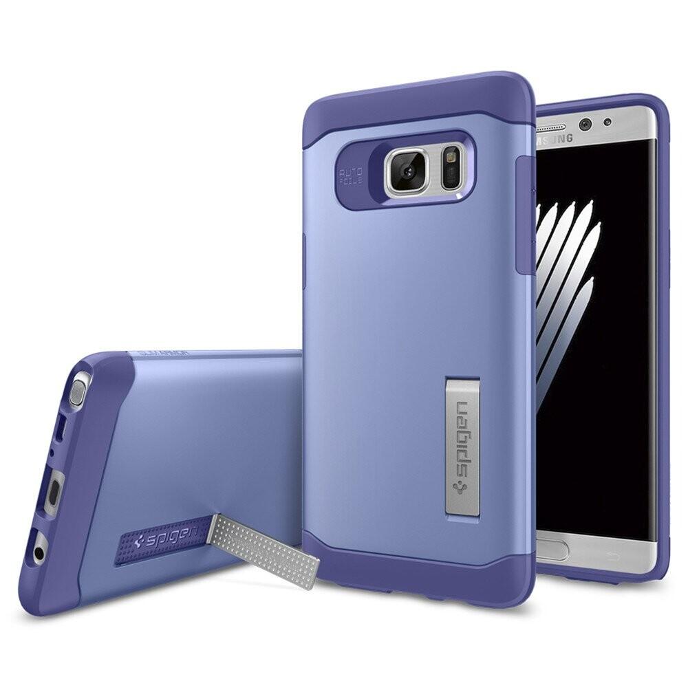 Чехол Spigen Slim Armor Violet для Samsung Galaxy Note 7