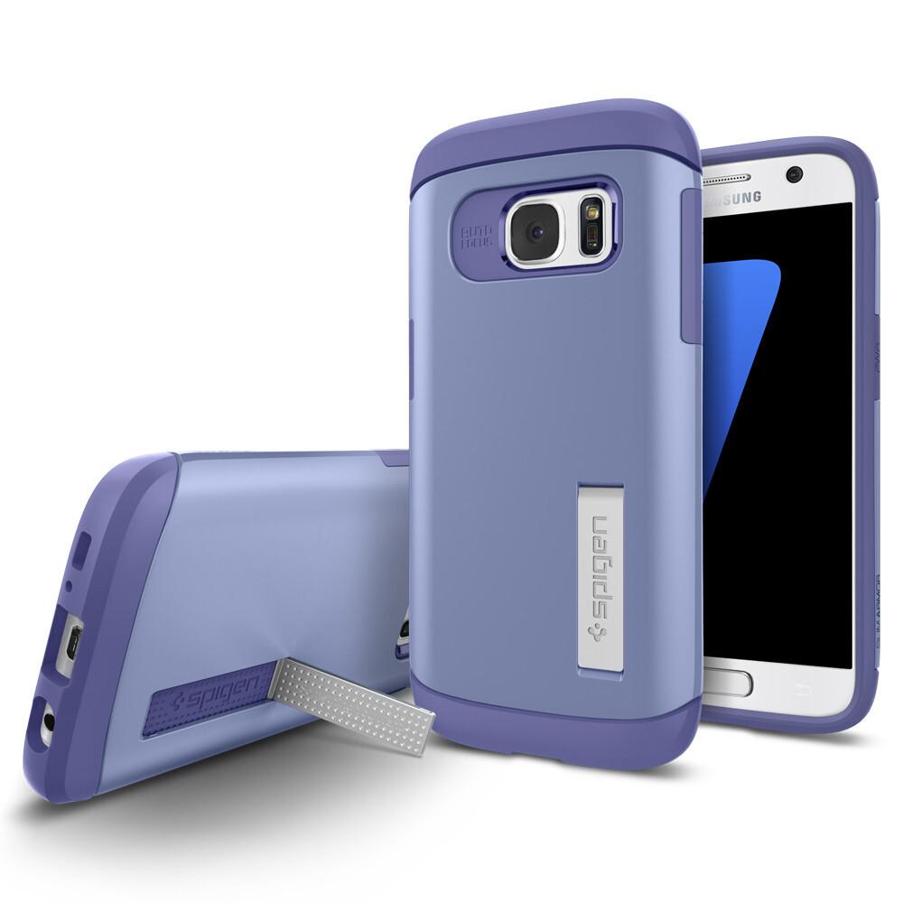 Чехол Spigen Slim Armor Violet для Samsung Galaxy S7