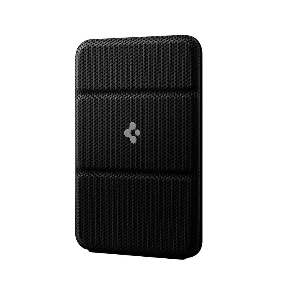Купить Кожаный чехол-бумажник с подставкой Spigen Smart Fold MagSafe для iPhone 12 mini | 12 | 12 Pro | 12 Pro Max