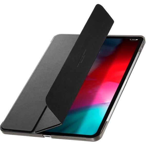 """Купить Магнитный чехол-книжка Spigen Smart Fold 2 Black для iPad Pro 12.9"""" (2018)"""