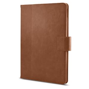 """Купить Кожаный чехол Spigen Stand Folio Brown для iPad Pro 10.5"""""""