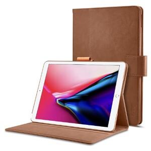 """Купить Кожаный чехол Spigen Stand Folio Brown для iPad Pro 12.9"""" (2 поколение)"""